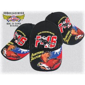 空軍F-16鷹隼國旗帽